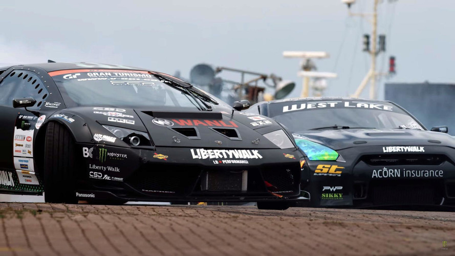 Watch This Epic BattleDrift Muricelago Vs GT-R Video, If You Can