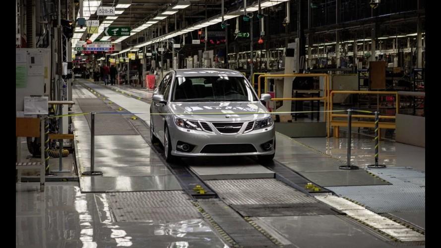 Saab reativa fábrica e produz primeiro modelo desde 2011