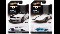 Ford Mustang ganha coleção Hot Wheels com oito modelos no Brasil