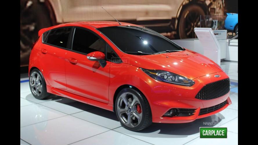 Vem aí o New Fiesta 2013 - Visual é antecipado pelo esportivo ST