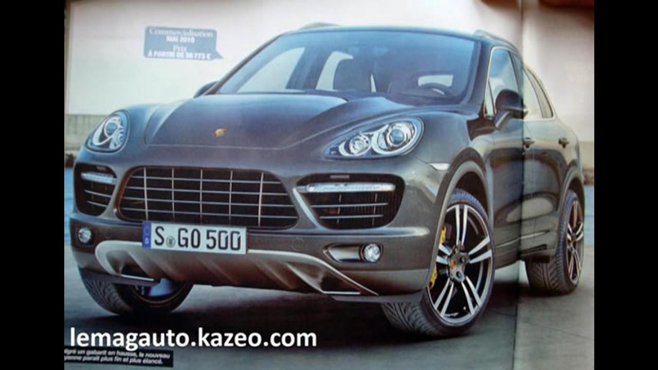 Revista francesa mostra o Novo Porsche Cayenne 2011 antes da hora