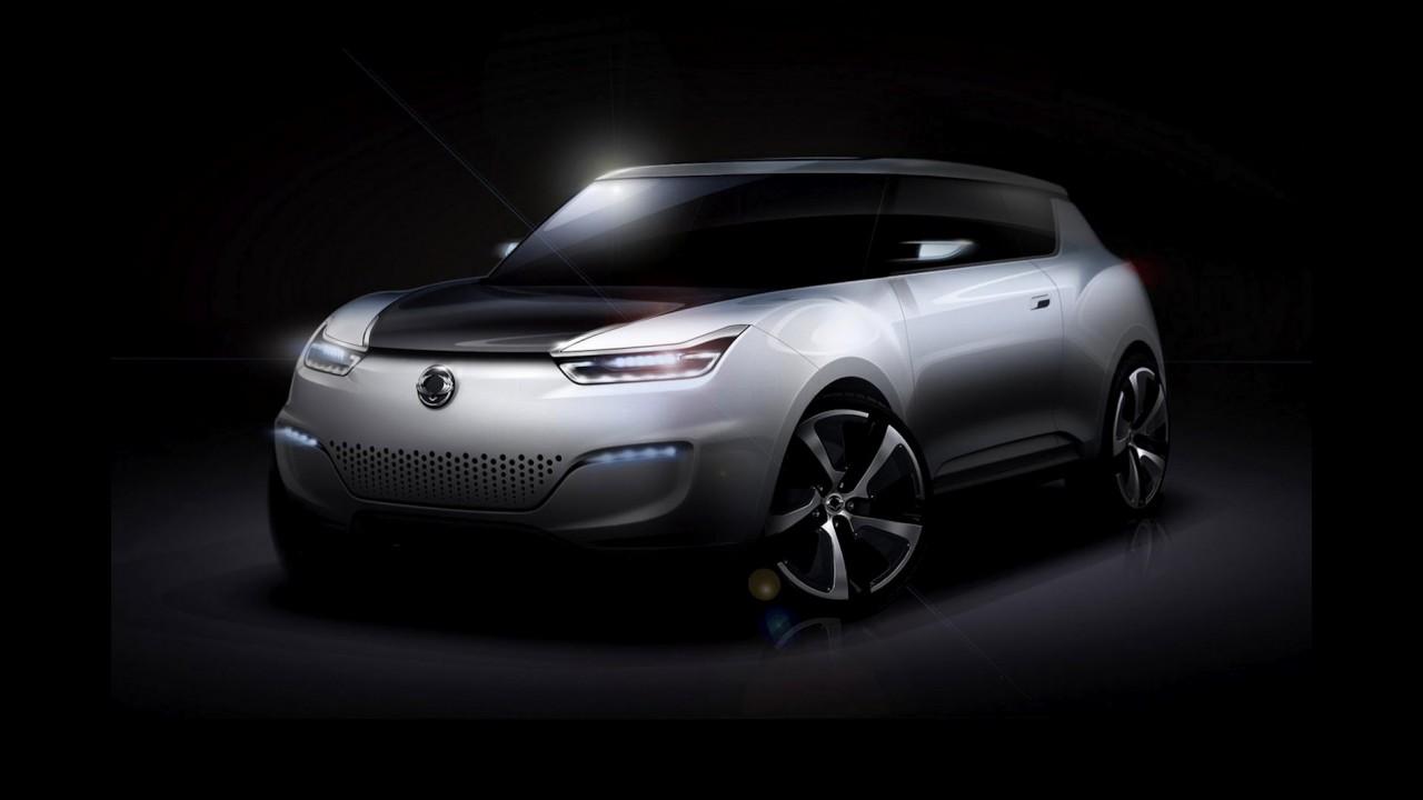SsangYong mostrará crossover elétrico e-XIV Concept no Salão de Paris