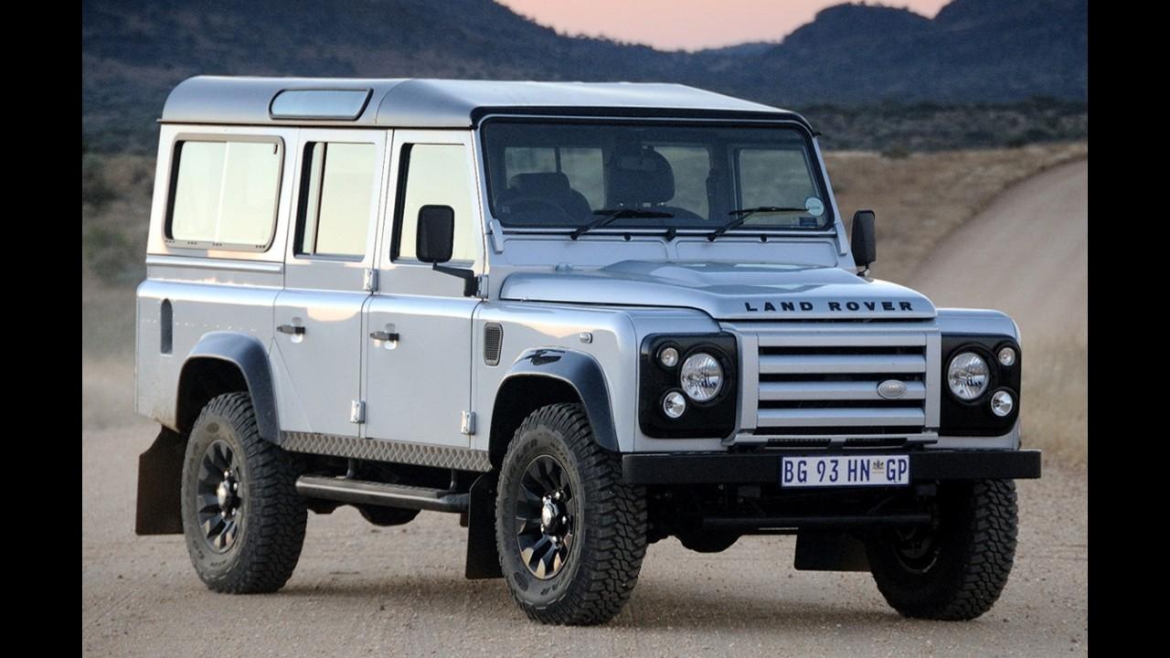 Land Rover Defender é chamado para recall por problema nos cintos de segurança