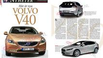 2013 Volvo V40 leaked from magazine