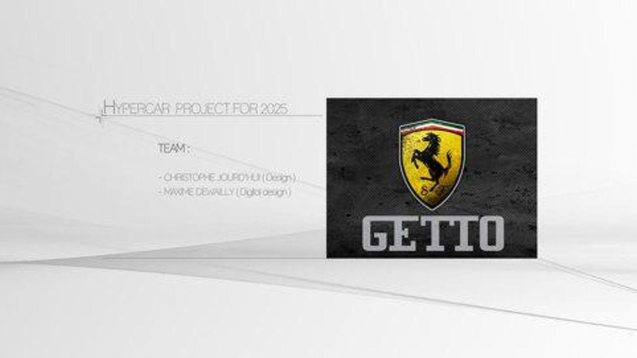 2025 Ferrari Getto design study