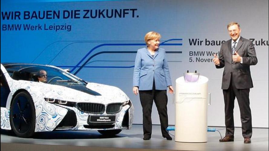 BMW dona 690.000 euro al partito della Merkel, polemiche in Germania
