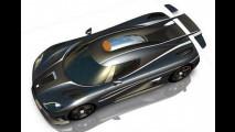Koenigsegg Agera One:1 - I primi disegni