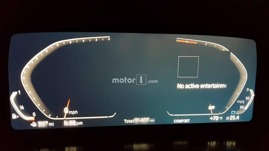 Yeni jenerasyon BMW Z4'ün gösterge paneli görüntülendi