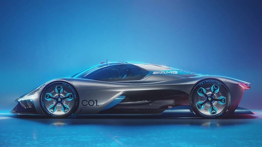 Mercedes C01 Concept Imagines A Stunning Project One Successor