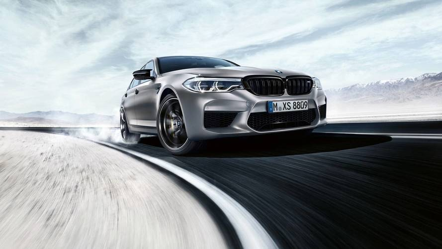So this is the new BMW M5 Competition