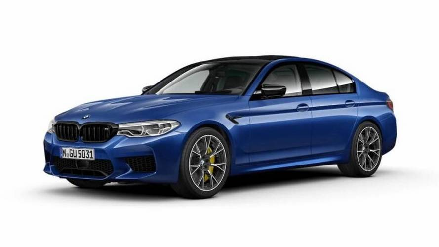 BMW M5 Competition Package Photos And Major Details Leaked