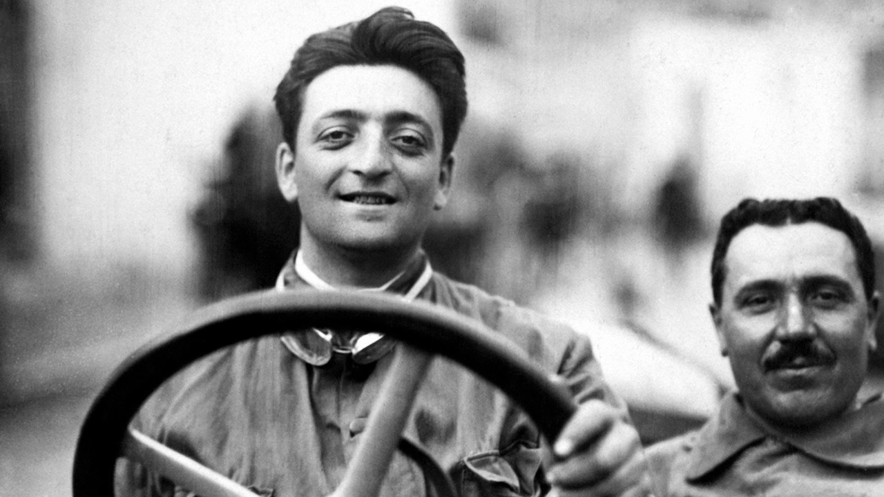 1920 Enzo Ferrari