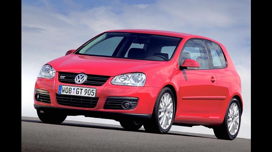 VW Golf im Modelljahr 2007: Mehr Leistung und Ausstattung