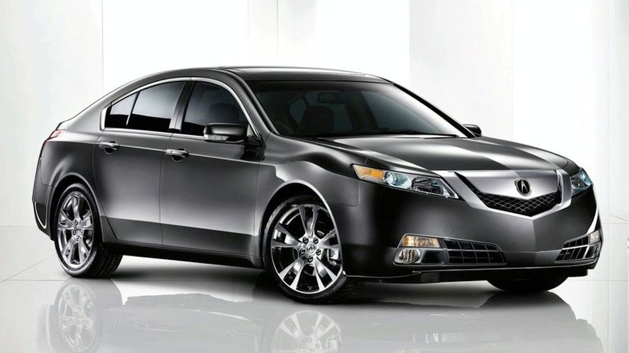 First Image of All-New 2009 Acura TL Released