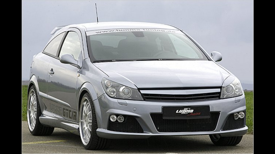 Opel aus dem Lumma-Land: Saftige 220 PS im Astra GTC/R