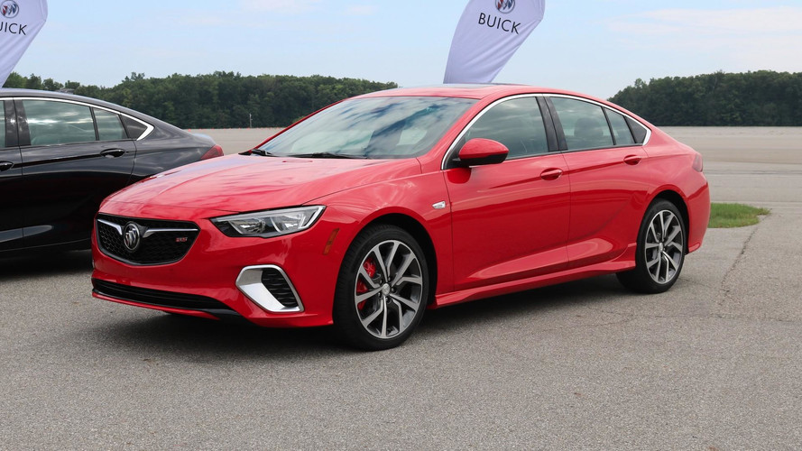 2018 Buick Regal GS Revealed With 310HP, AWD For $39,990