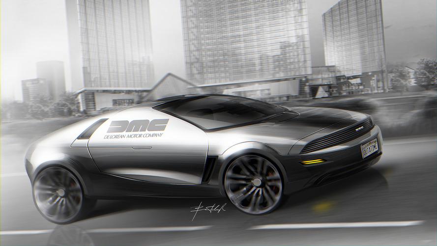 Designer mostra como seria a volta do DeLorean
