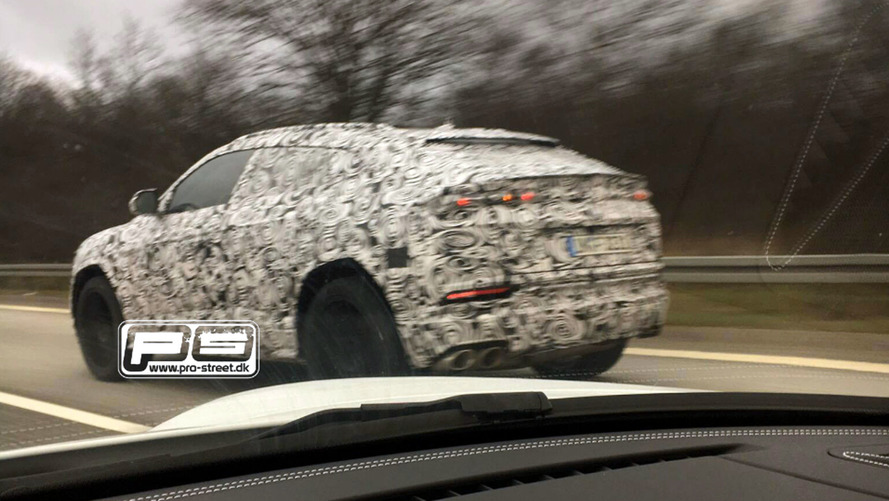 2018 Lamborghini Urus SUV spied for real this time