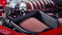 Dodge Challenger Demon kaput hava girişi