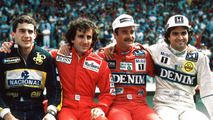 Formula 1 through the years