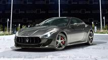 Maserati GranTurismo 2018 render