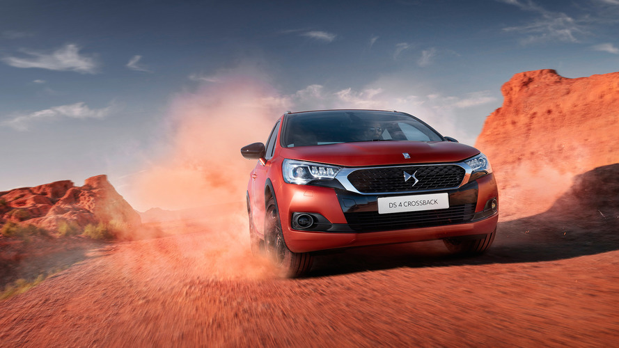 DS 4 Crossback Terre Rouge