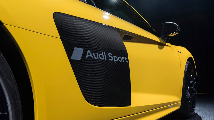 Audi gives R8 the equivalent of an ankle tattoo