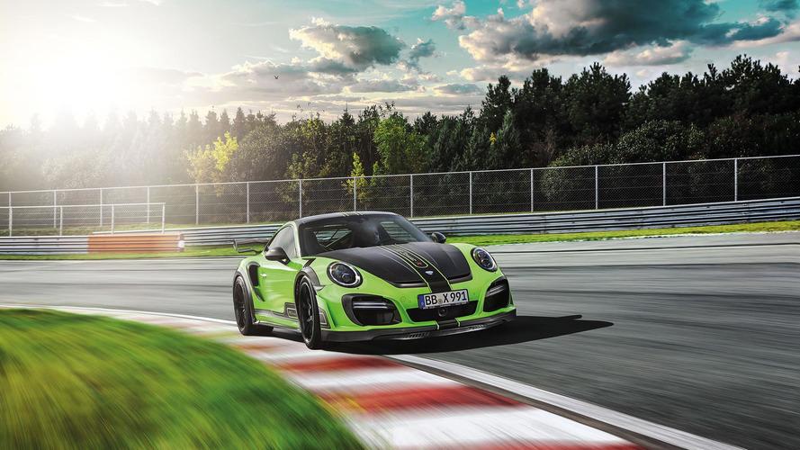 Modifiyeli Porsche 911 Turbo tam 720 bg gücünde