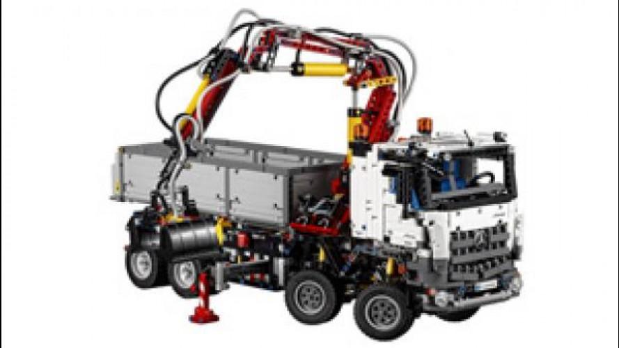 Mercedes Arocs 3245, arriva la versione Lego Technics