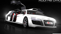 Limo Broker announces world's first Audi R8 stretch limo [video]