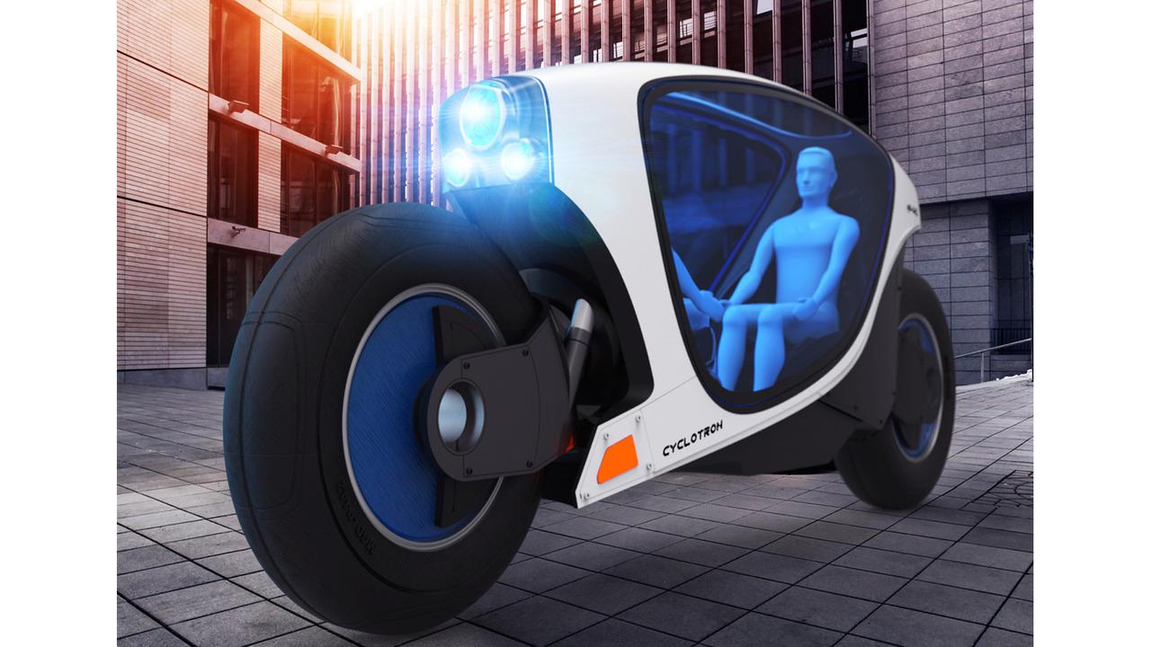 Bientôt une moto autonome ?
