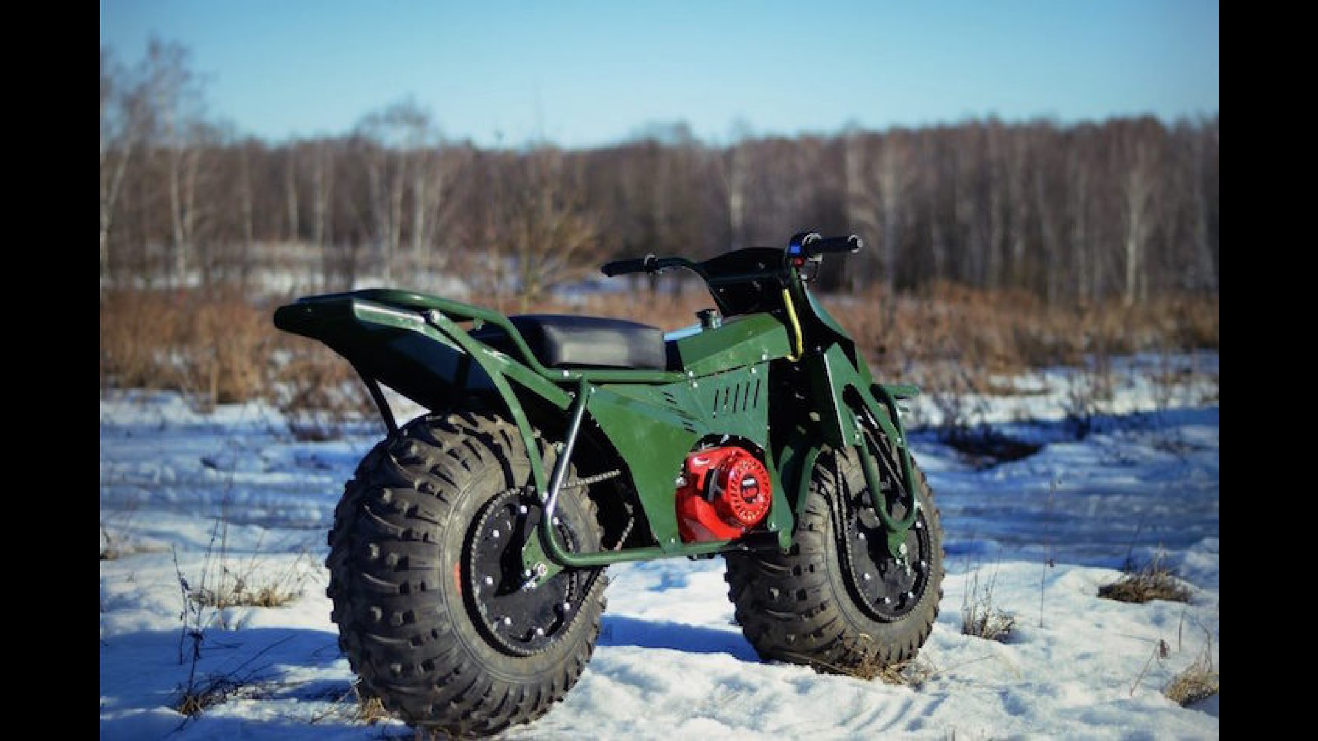 Conquer Any Terrarin on the Taurus 2x2 Adventure Motorcycle