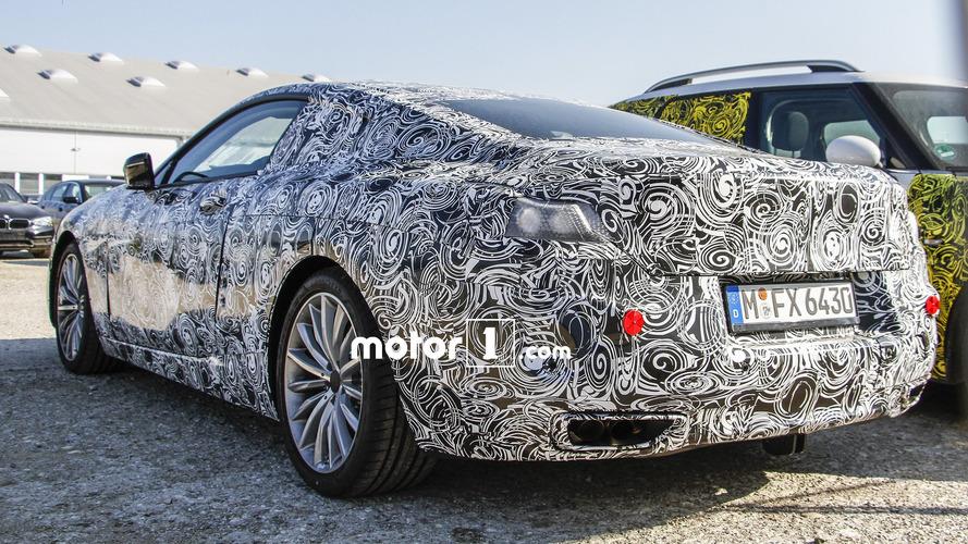 Spyshots de la future BMW 8 Series