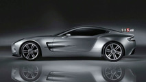 The New Aston Martin One-77
