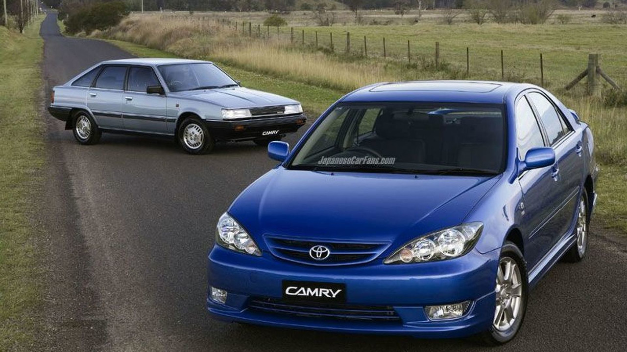 First and Latest Toyota Camry built in Australia