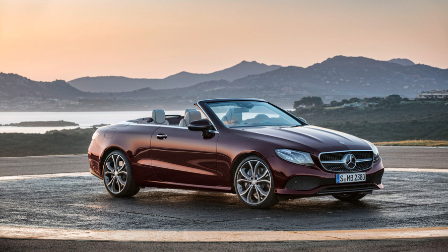 2018 Mercedes E-Class Cabriolet: 329 hp and endless sunshine