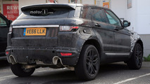 2019 Range Rover Evoque Spy Shots