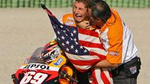 El campeón de MotoGP 2006 Nicky Hayden