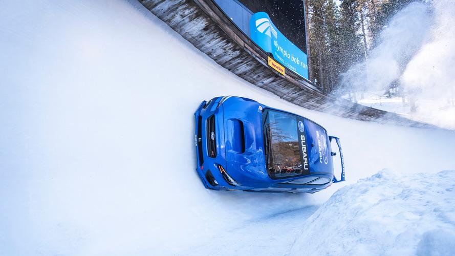 Subaru shows us how to drive a car sideways
