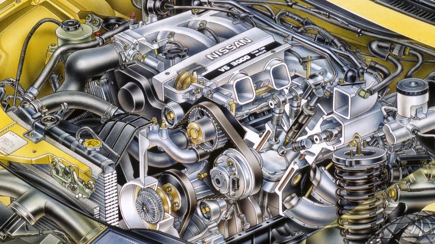 1990 Nissan 300ZX prototipi kesit çizimi - David Kimble