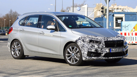 BMW 2 Series Active Tourer Spied Hiding Nip And Tuck