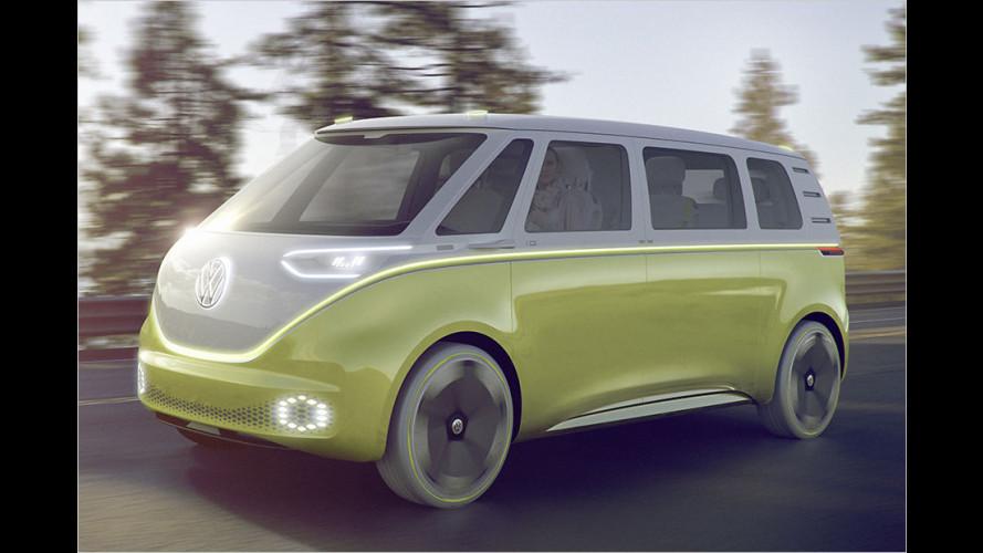 VW I.D. Buzz: Bullis Erbe