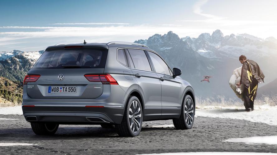 Volkswagen Tiguan Allspace 2017 El Suv De Vw Para El