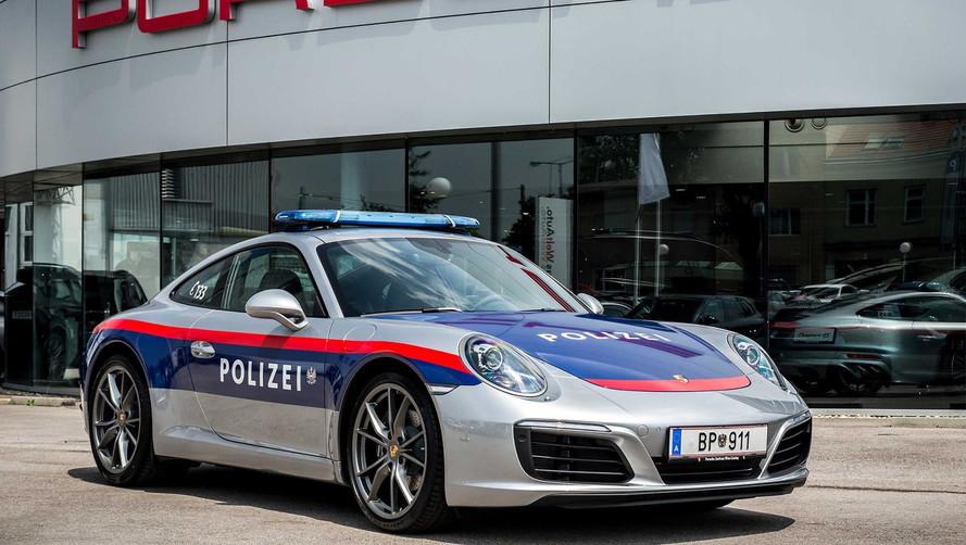 Austrian Police Will Chase Speeders With Porsche 911