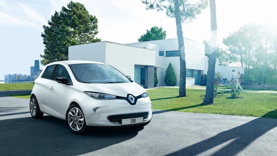 Renault, 320 kilometre menzilli Zoe EV'i Paris'te tanıtacak