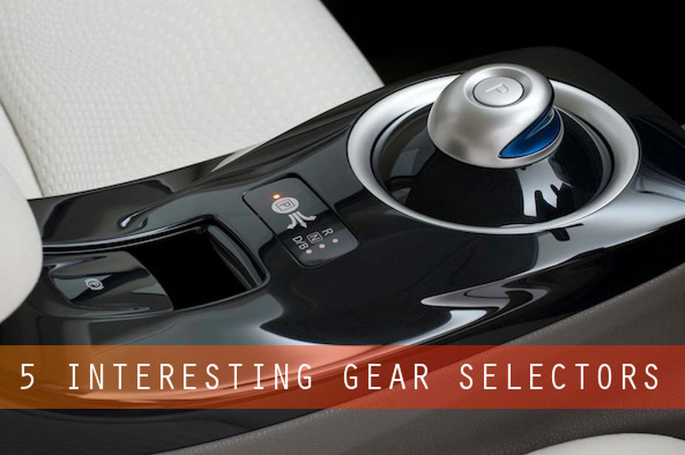 Five Revolutionary Gear Selectors that Shift the Way We Shift