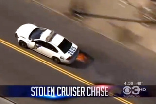Duo Steals Two Police Cars, Leads Police on Chase in Philly