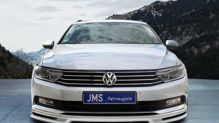 JMS tunes the Euro-spec Volkswagen Passat