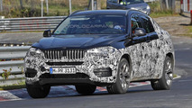 Next generation BMW X6 spied once more