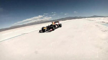 Red Bull RB7 on the Salinas Grandes salt flats 21.10.2013